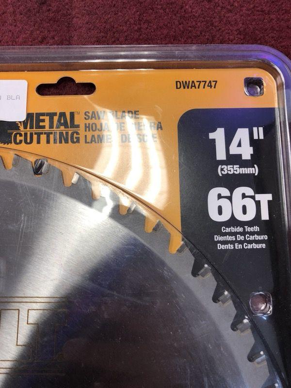 Dewalt metal saw blade