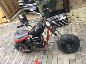 Really looking to let go mini bike .. Trade for Moped running condition. Contact me AsAP for Sale in Washington, DC
