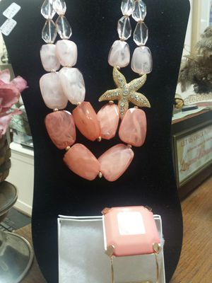 Super fun beach themed necklace and bracelet for Sale in Leesburg, VA