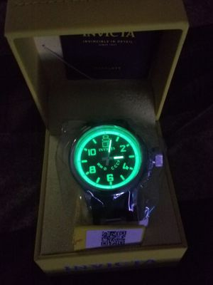 INVICTA GLOW IN THE DARK DIVER WATCH for Sale in Covington, GA