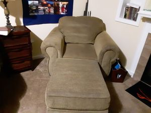 Chair and ottoman for Sale in Lynchburg, VA