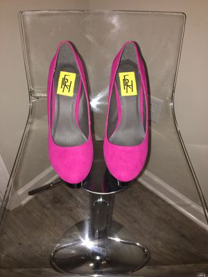 Fuchsia platform pumps! Brand New! for Sale in Atlanta, GA