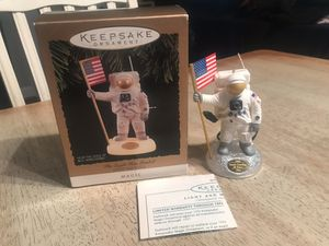 First Man On the Moon Christmas Ornament for Sale in Essex, MD