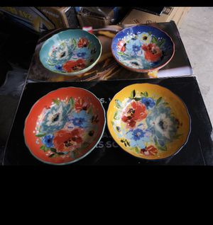 Photo The Pioneer Woman Melody 4-Piece Pasta Bowl Set