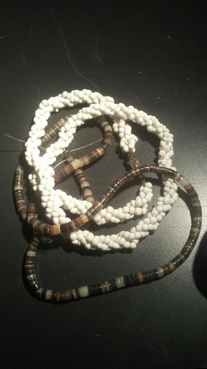 Shell beads 2 strands for Sale in El Cajon, CA
