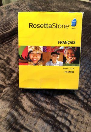 Rosetta Stone French with headphones for Sale in Arlington, VA