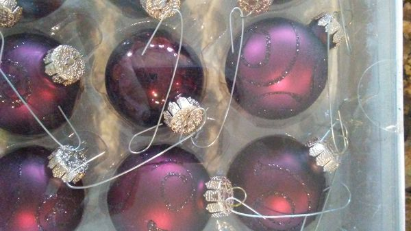 package of 12 maroon purple glass christmas ornaments target brand ast for sale in louisville ky offerup - Christmas Ornaments Target