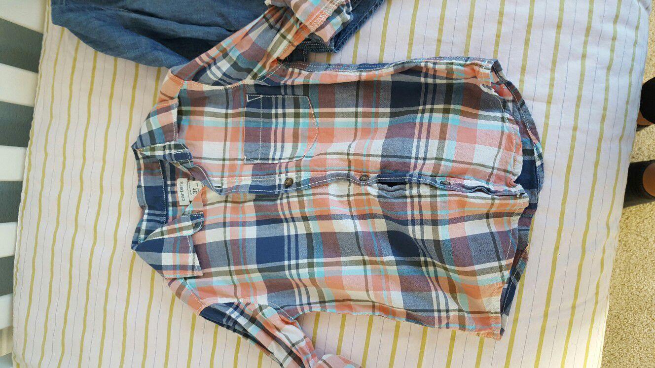 3t long sleeve church shirts