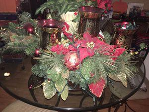 Big Candle Christmas decor for Sale in San Antonio, TX