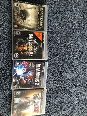 4 games for Sale in Germantown, MD