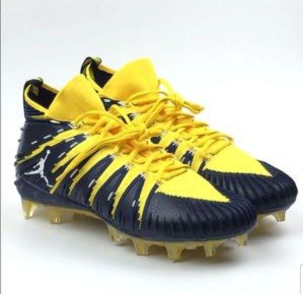 104517ac55e1 NIKE JORDAN ALPHA MENACE ELITE FLYKNIT FOOTBALL CLEATS for Sale in ...