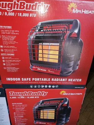 Photo Tough Buddy 18000-BTU Portable Radiant Propane Heater ($60) Mr. Heater 18000-BTU Portable Radiant Propane Heater Item #1317875Model #MH18B ($60)