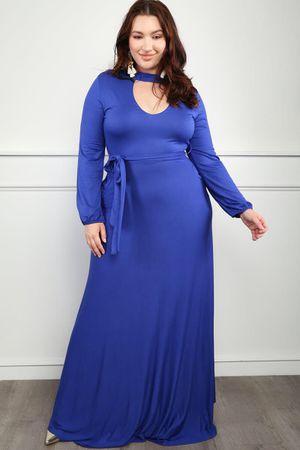 Blue Maxi Dress - Size 3X (20/22) for Sale in Eldersburg, MD