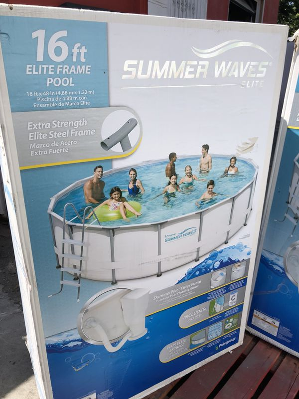 Swimming pool alberca summer waves 16 ft for Sale in Lynwood, CA - OfferUp