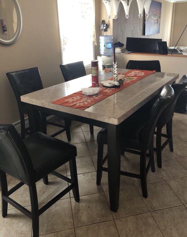 Sensational Beige Marble Dining Room Table Download Free Architecture Designs Boapuretrmadebymaigaardcom