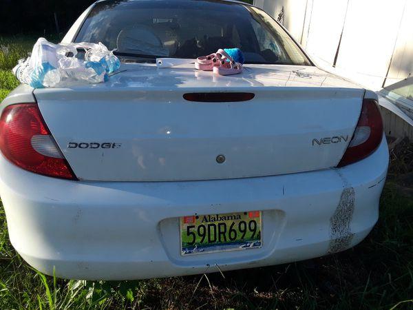 2002 Dodge Neon Automatic For Sale In Ashville Al Offerup