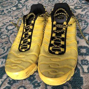 Photo Nike Tn AIRMAX Black and Yellow