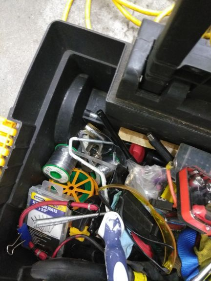 Misc tools. All the tools with rolling cart