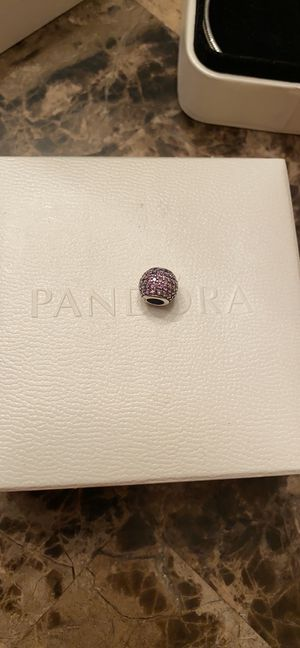 Photo GORGEOUS RETIRED PANDORA PURPLE PAVE LIGHTS