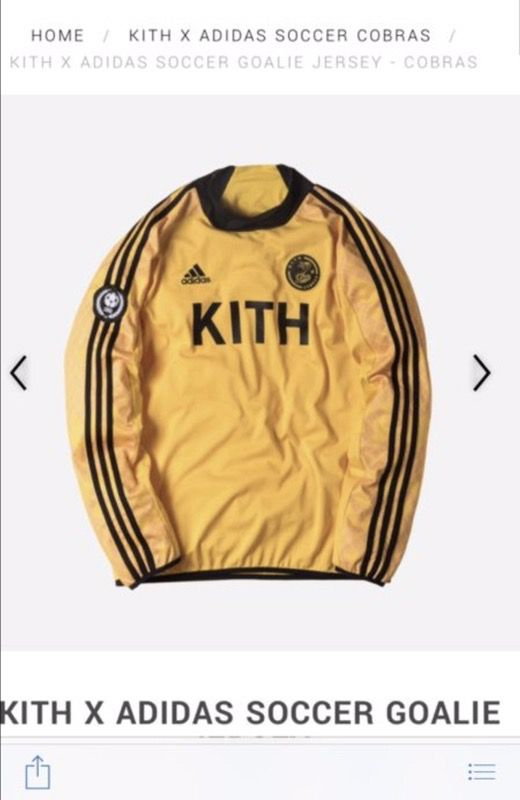b27c4730d Kith x adidas soccer goalie jersey for Sale in Bronx, NY - OfferUp