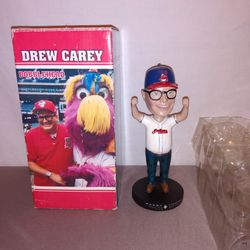 Cleveland Indians Drew Carey special edition bobblehead Thumbnail