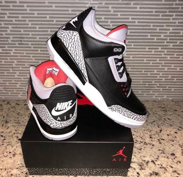 7c44c6314373 Jordan 3 Cement OG Nike 2018 for Sale in Houston