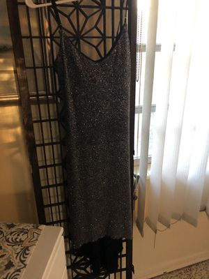 2aab0fd8367 Black and silver semi formal dress size small for Sale in Apopka