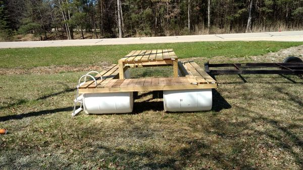 Floating picnic table with swim platform boats marine in pigeon floating picnic table with swim platform boats marine in pigeon mi offerup watchthetrailerfo