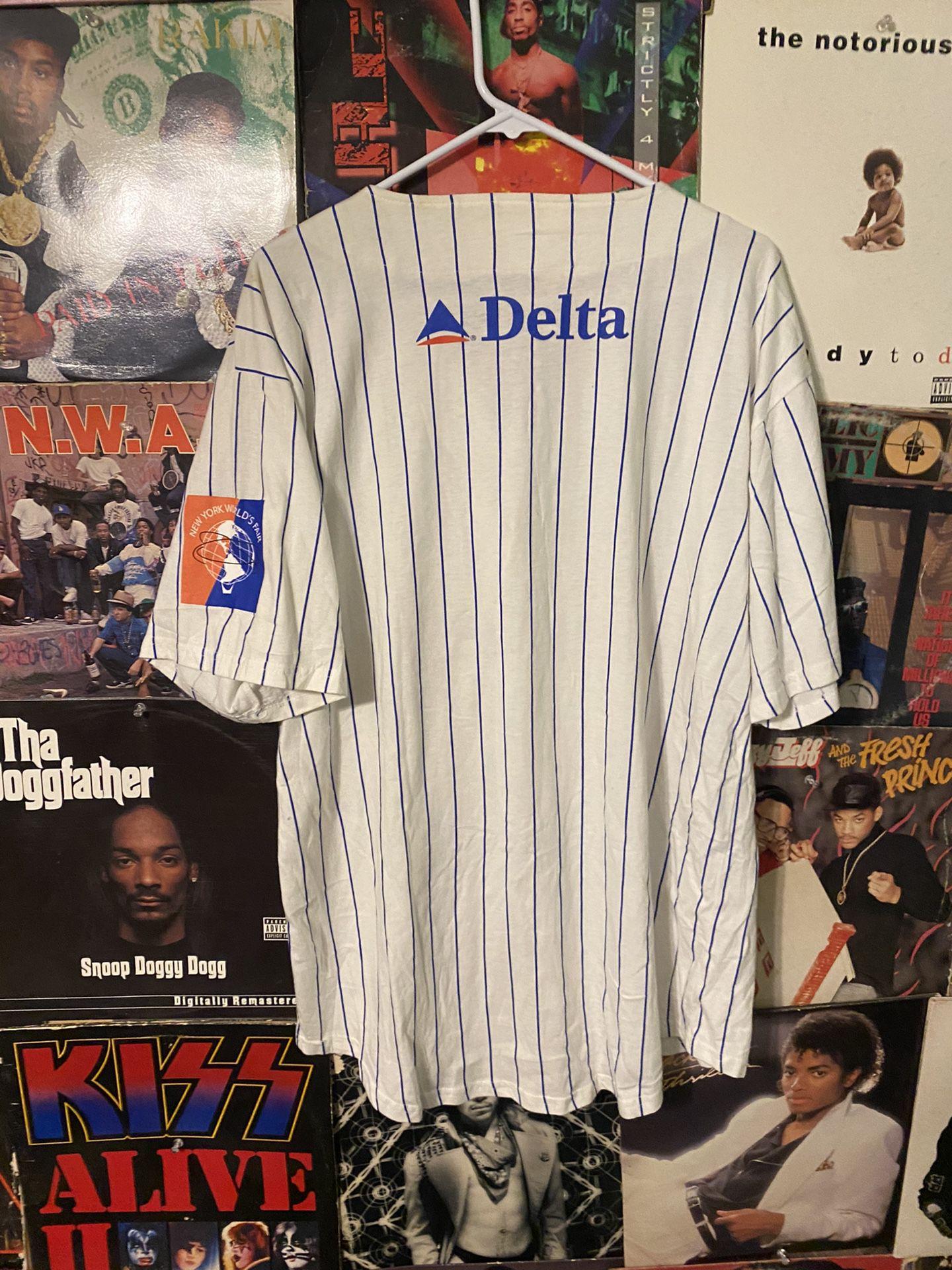 Vintage New York Mets Baseball Jersey