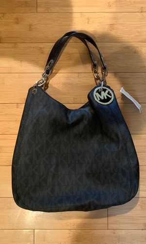 e8f9a59d65cb Brand new beautiful bag with tags Michael Kors Large Sholder Tote Black for  Sale in Mukilteo
