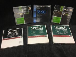 Sealed Maxell TDK Scotch Reel Tapes for Sale in Portland, OR