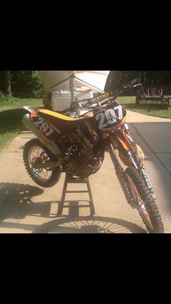 2008 ktm 250 SXF Thumbnail