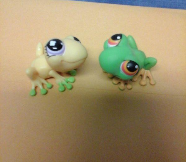 Adorable frog friends authentic original littlest pet shop for Sale ...