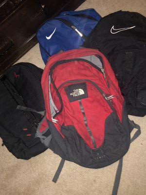 4 backpacks for Sale in Springfield, VA