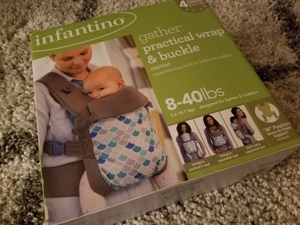 Infantino Gather Practical Wrap & Buckle Carrier for Sale in La Mesa ...