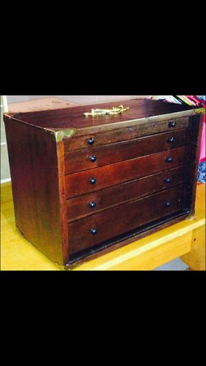 Beautiful Antique Watchmaker's Cabinet Of Drawers for Sale in Omaha, NE