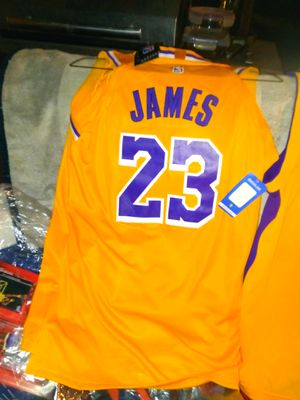 6d11215b3451 New and Used Lakers jersey for Sale in Carson