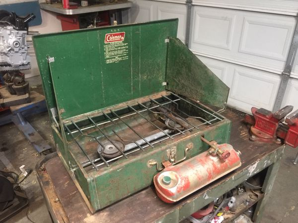 Vintage Coleman camping stove for Sale in Victorville, CA - OfferUp