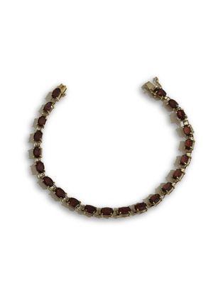 14k garnet bracelet for Sale in Alexandria, VA