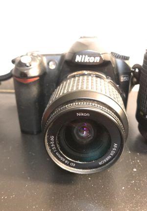 Nikon D50 Camera & TWO LENSES for Sale in Johnston, RI