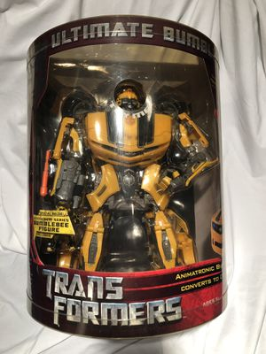 NIB Transformers Large Ultimate Bumblebee Costco Exclusive 2007 for Sale in Silver Spring, MD