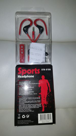 New bluetooth sports headphone for Sale in Falls Church, VA