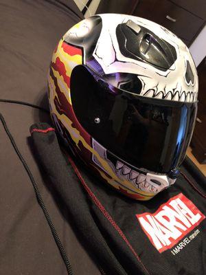 Photo Marvel Ghost Rider Motorcycle Helmet Large