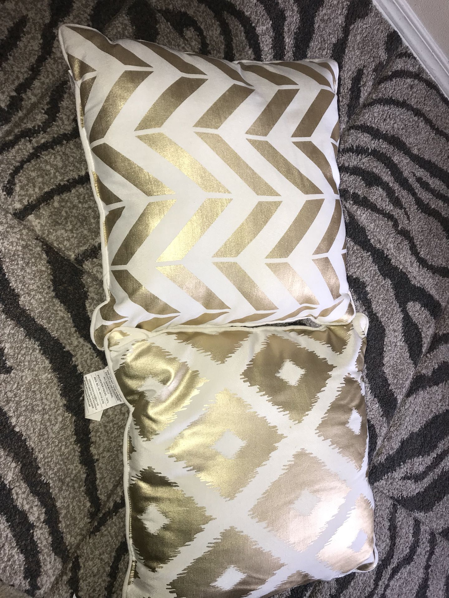 Decorative pillows!