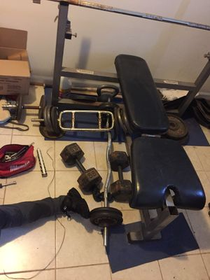 weights for sale for Sale in Sterling, VA