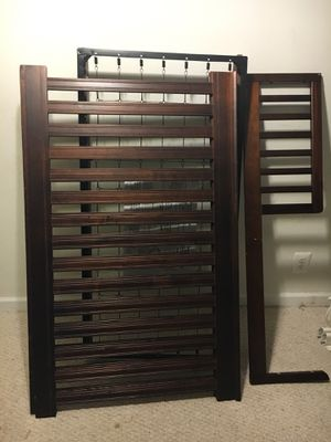 Crib with toddler rail for Sale in Alexandria, VA