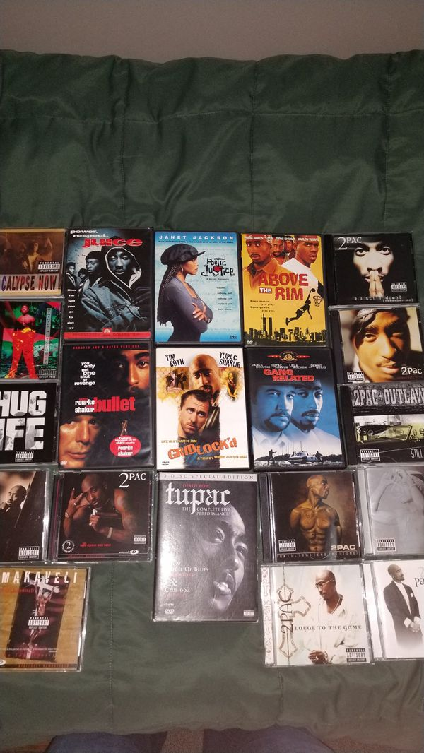 Tupac 2pac collection CD albums and movies for Sale in Melrose Park, IL -  OfferUp