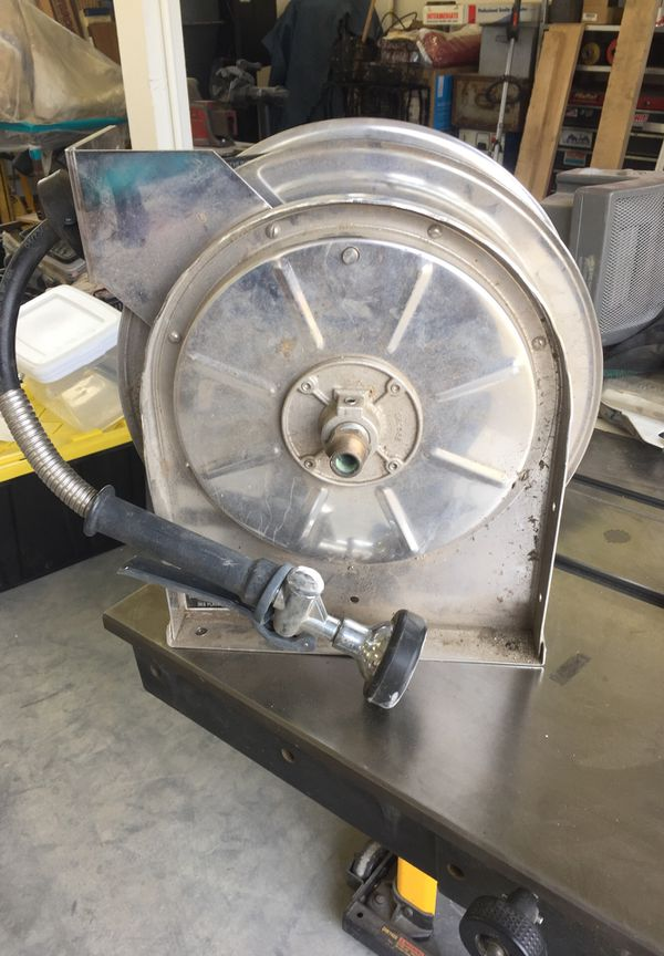 Chicago Faucets Stainless Steel Hose Reel For Sale In