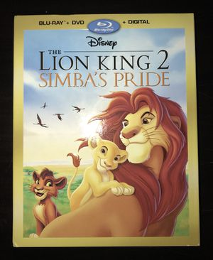 The Lion King 2 - Simba's Pride Blu-Ray DVD for Sale in Gaithersburg, MD