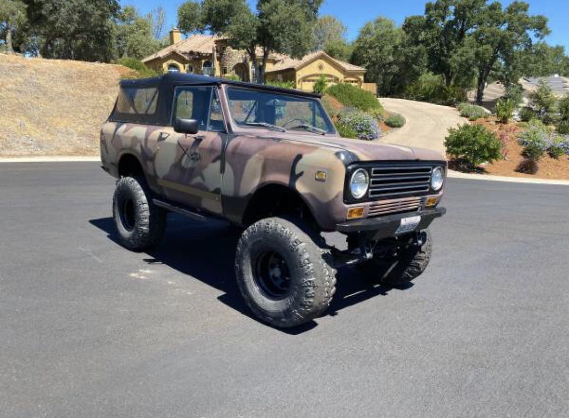 1972 Scout ii Liftted 4x4
